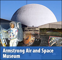 Armstrong Air and Space Museum Auglaize County Wapakoneta Ohio